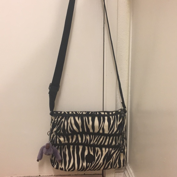 cf4afc8d692 Bags   Kipling Striped Crossbody Bag   Poshmark